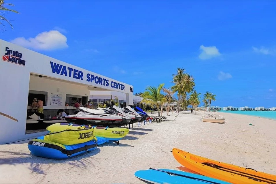 water sport center at Riu Palace Maldivas